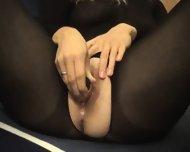 Creampie in Bodystocking - scene 3