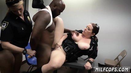 Blonde mature black guy and big cumshots men Milf Cops