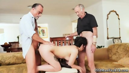Teen old More 200 years of manmeat for this sexy brunette!