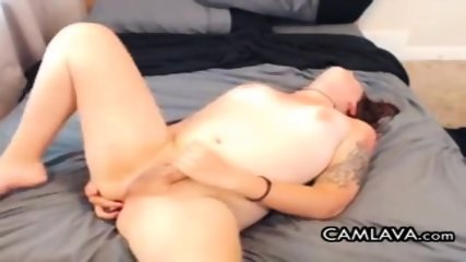 Short Haired TS Toys Ass
