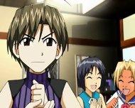 Strange Anime Scene - scene 3