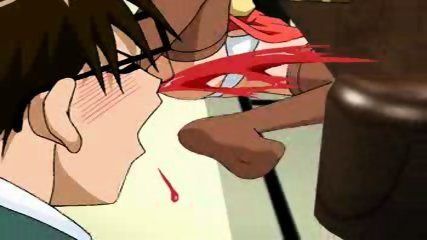 Strange Anime Scene - scene 4