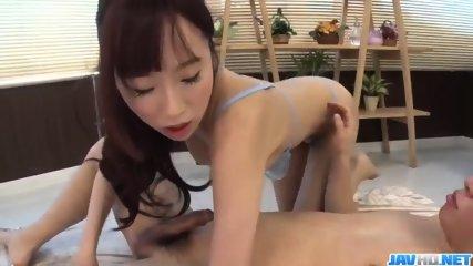 Yui Misaki lets man to deep smash her creamy vagina - More at JavHD.net