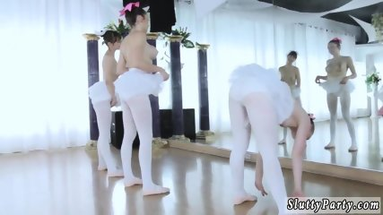 Giantess feet party and hot college first time Ballerinas