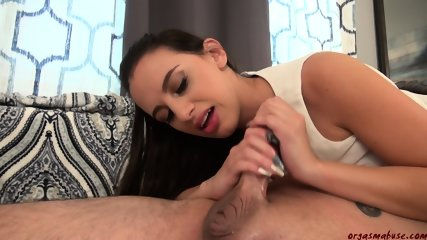 Dick Rubbing With Huge Cumshot