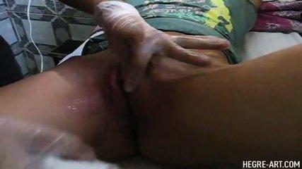 Simona gets a Brazilian Waxing - scene 8