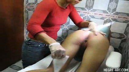 Simona gets a Brazilian Waxing - scene 12
