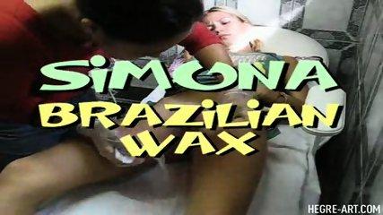 Simona gets a Brazilian Waxing - scene 2