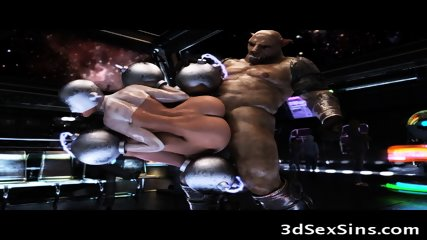 3D Creatures Fuck Captive Girls!