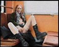 Swedish Redhead loves Sex in public - scene 6