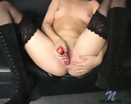 Hot Chick with pink Dildo - scene 10