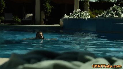 Arielle Kebbel Stripping & Swimming Naked in The After S1E1 (2014)