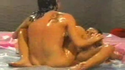 Oil Wrestling Match - scene 9