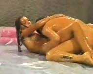 Oil Wrestling Match - scene 6