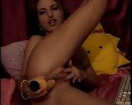 Girl having some Fun in Private Chat - scene 5