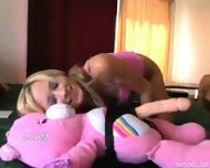 Care Bear Strapon Dildo - scene 1