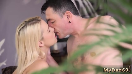 Sloppy gagging blowjob Sleepy boy missed how his father drills his girlpal