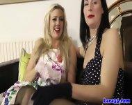 Glam Mature In Stockings In Lez Affair