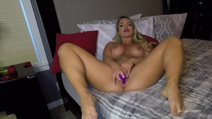 Busty Girl In Solo Action