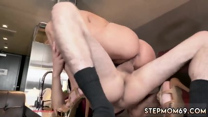 Mom fucks duddy boss 1 Horny Step Mom Gets Slammed