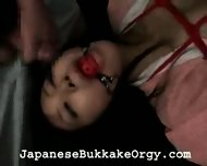 Lots of Cum and a Gag - scene 8