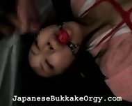 Lots of Cum and a Gag - scene 10
