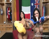 Tattooed Beauty Bonnie Squirts As She Climaxes Using A Vibrator On Her Hole