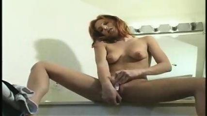 Redhead with shaved Pussy - scene 9