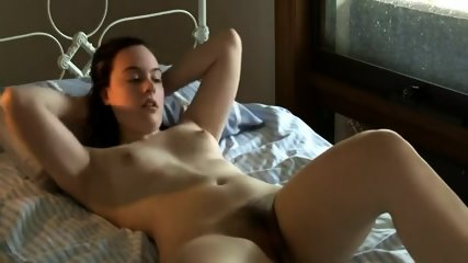 Sensual Teen Strokes Herself Off
