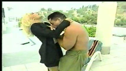 Big tit blond with big tits - scene 1