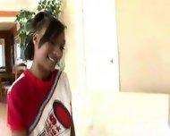 Very Hot Young Ebony Cheerleader