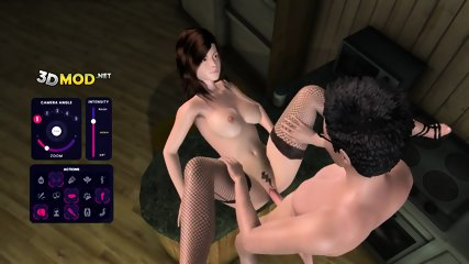 Anal Anna Morna - Dark Alley Fantasy - 3D Game