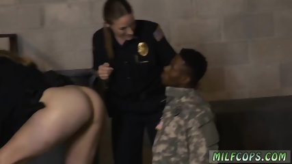 Amateur wife helping comrade A lot of cops are veterans.
