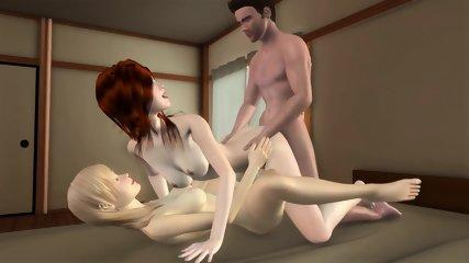Umemaro 3D Gameplay - Vol. 14 Cheeky Girl