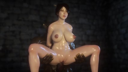 Weird fuck dream. 3D monster porn Anal Part 2.