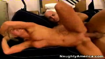 gets fucked after sucking big cock - scene 8