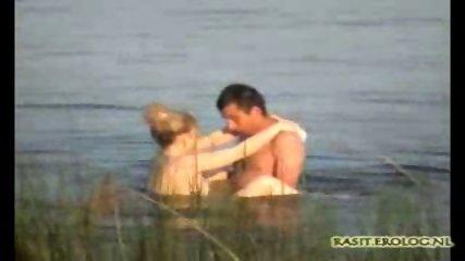 Couple captured having Sex in Lake - scene 8