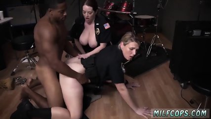 Chubby milf anal first time Raw video grasps police poking a deadbeat dad.