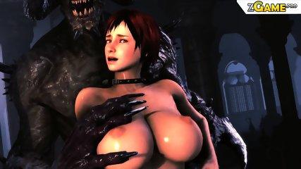 Hardcore 3D uncensored porn