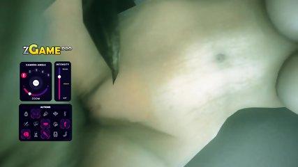 Boogeyman monster fucks busty Blonde. 3D Ass