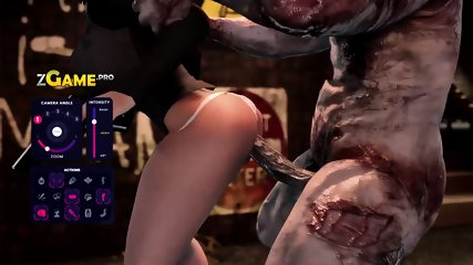 Back Alley 3D InterraciaL Gangbang and Some Furry Fucking Goblins dicks