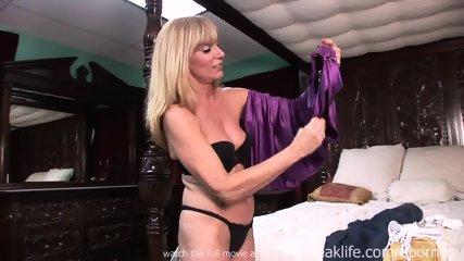 Sexy Milf Strip Tease - scene 10