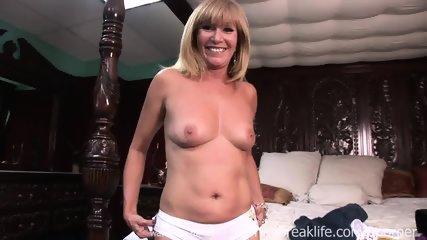 Sexy Milf Strip Tease - scene 5