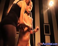 Lezdom Victim Clamped - scene 12