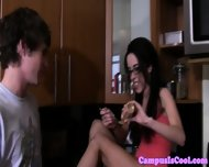 Amateur Teen Coeds Fucked And Jizzed On - scene 6