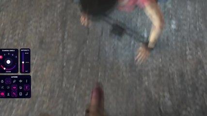 Horror hero Tracer deepthroats and fucks hard monster