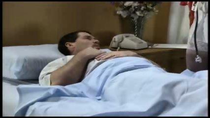 Hot Nurse looking after her Patient - scene 2