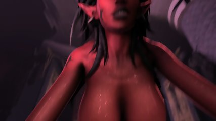 Fucks Horror Big tits 3D game heroes fucking hard and raw