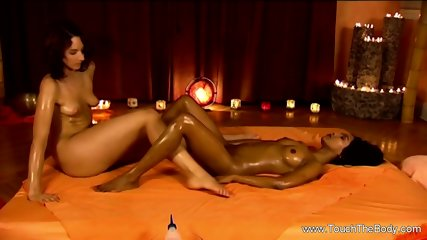 A Relaxing Massage From Her Friend with whole Body