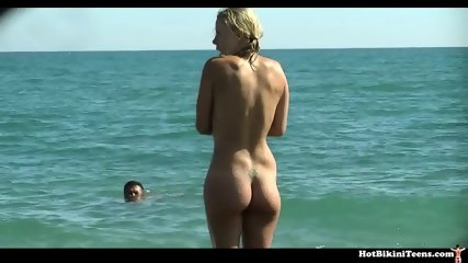 Hot Nudist Couples Beach Voyeur - scene 5